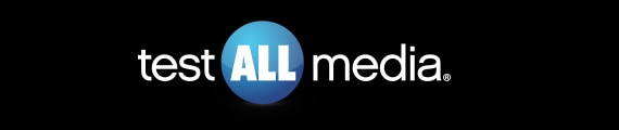 test all media logo