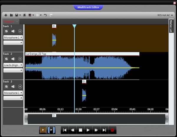 June 2014: Multitrack Editor