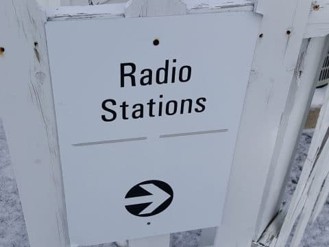 March 2016: Customer Connection Radio Station Entrance