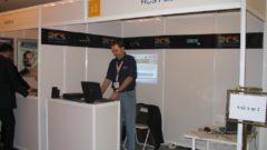 Tomasz Dykiert at RCS Poland booth.